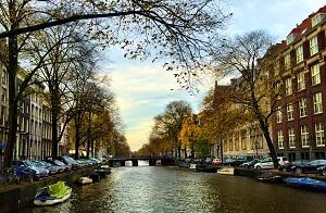 weer in Amsterdam