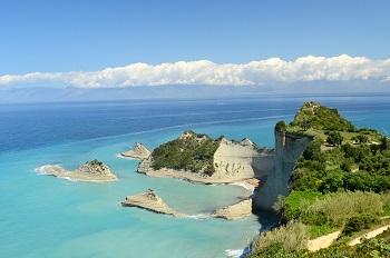 weer in Corfu